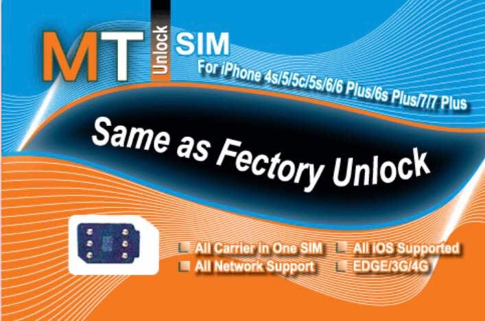 MT Unlock Sim Superior Solution For iPhone
